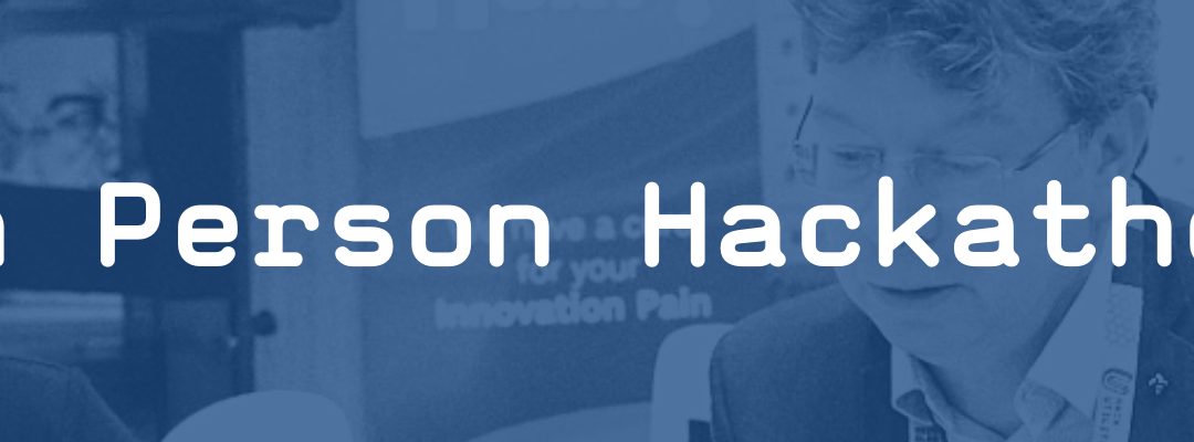 Did you hear about the healthcare hackathon happening in person this June in Brussels?